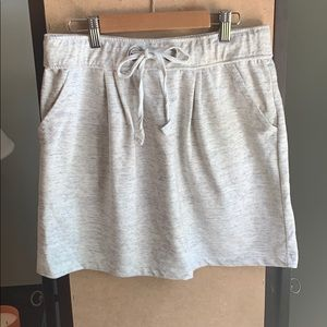 39c5d8eed Caslon skirt, gray w/ pockets, length 16.5 inches
